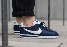 Nike Cortez Nylon: Navy