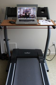 How To Build A Treadmill Desk For Under $20! - Whole Lifestyle Nutrition | Organic Recipes | Holistic Recipes