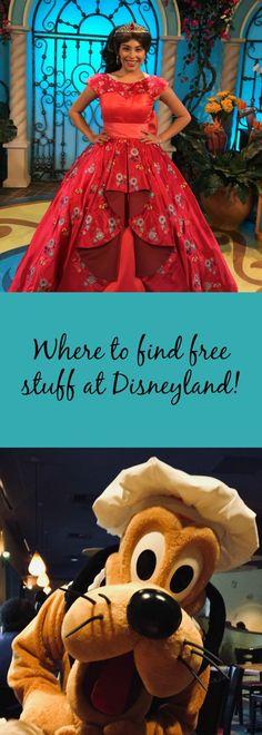 All the freebies at Disneyland. #disneyland