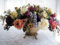 victorian flower arrangements - Google Search | Victorian ...