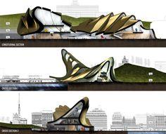 Discarded Guggenheim Proposals - LPzR architetti associati, Principioattivo architecture group