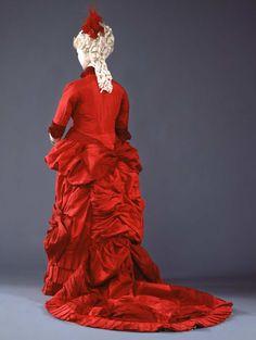 Dress 1880-1882 Collection Galleria del Costume di Palazzo Pitti