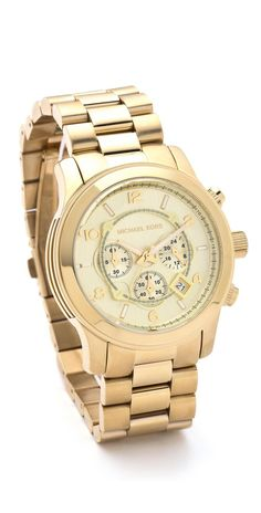 Michael Kors Oversized Men's Watch - trendy watches for men, steel watches, hand watch for man *ad