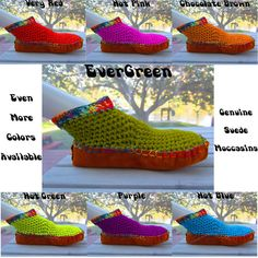 Summer Moccasin Double Cotton Uppers Suede Leather by ArtisticFunk