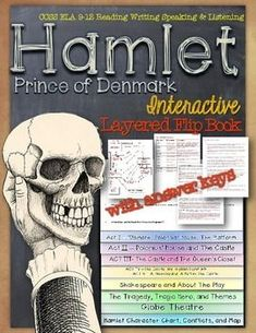 Hamlet, Prince of Denmark: Interactive Layered Flip Book ($)