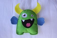 Funny Face monster plush.  So cute!    Great for class gifts.