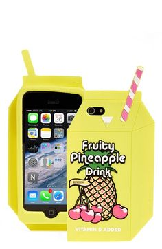 SKINNY DIP 'Pineapple Juice' iPhone 6 Case