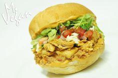 Chicken-less Torta @beyondmeat @daiyafoods @followyrheart