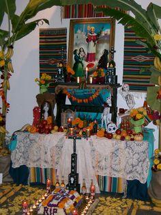 Day of the dead - Xantolo - Dia de los Muertos - Ofrenda