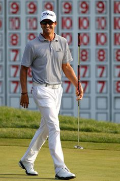 Adam Scott - Deutsche Bank Championship - Round Three September 4, 2011