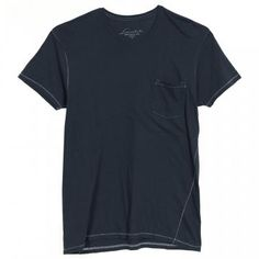 8955030b79 Loomstate Pocket Tee - Big Blue. A super soft crew neck with signature  Loomstate seamed
