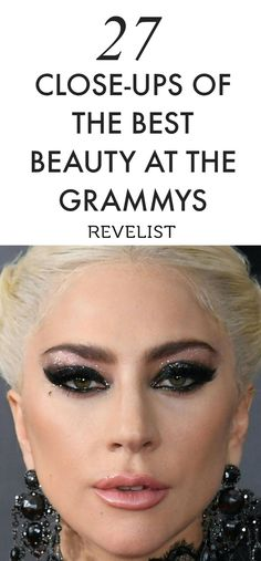 Our favorite celebs rocked the Grammy red carpet wearing some of the most stunning makeup looks we've ever seen. From bold eye shadow and eyeliner to popping lipstick, it's hard for us to choose a favorite. Read on to get makeup inspiration for the next time you do your makeup for a wedding, concert, or date night!