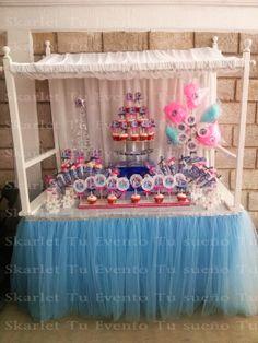 mesa dulces frozen