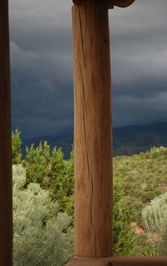 Oncoming storm Santa Fe