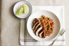 Spanish Style Chicken & Rice.