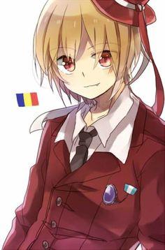 Romania Hetalia Bulgaria, Romanian Flag, Yolo, Vampire Boy, Hetalia Characters, Axis Powers, Manga, Vocaloid, Cute Art
