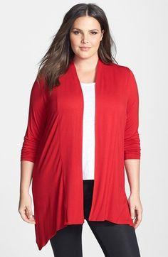 Evans Jersey Cardigan (Plus Size). $49.50. #fashion #women #cardigan #plus size fashion for women
