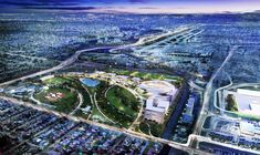 """David Beckham and partner Jorge Mas have released the first image of a soccer stadium they hope to build on a city-owned golf course. """"Miami Freedom Park"""" would be a home for Miami's future Major League Soccer franchise. Major League Soccer, Soccer Players, Environment Design, Built Environment, David Beckham, Miami Architecture, Soccer Stadium, Football Soccer, South Miami"""