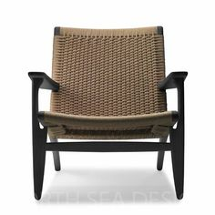 CH25 - Lounge Chair - NORTH SEA DESIGN