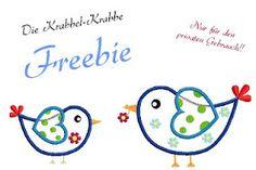 Die Krabbel Krabbe: Freebie