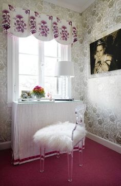 How to use acrylic furniture in home design and not have it look cheap or cheesy.