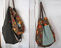 ErynBags / Bag No. 196 Handmade Bags, Gym Bag, Handbags, Wallets, Sewing, Fashion, Totes, Dime Bags, Handmade Purses
