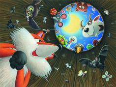 Exceptional Illustrations of Izabela Kowalska-Wieczorek Illustrators, Rooster, Cartoons, Animals, Cartoon, Animales, Animaux, Cartoon Movies, Illustrator