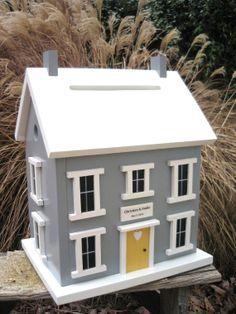 wedding card box birdhouse