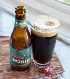 Beer Review: Dubhe Imperial Black IPA from Uinta Brewing Co. — Beer Sessions