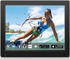 Best Digital Photo Frame - Discount NIX 12 inch Hi-Res and Wi-Fi Cloud D...