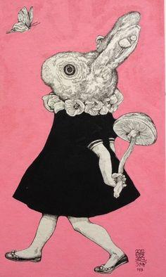 yukohiguchi|绘本/漫画|绘画艺术 - 设计佳作欣赏 - 站酷 (ZCOOL)