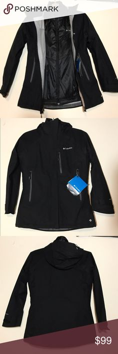 NWT Columbia 3 in 1 jacket NWT black 3 in 1 Columbia jacket. Outer shell is waterproof with three pockets and two vents. The inside jacket is a thin puffer jacket that's very warm due to Columbia's Omni- heat technology. Perfect condition!! Columbia Jackets & Coats Puffers