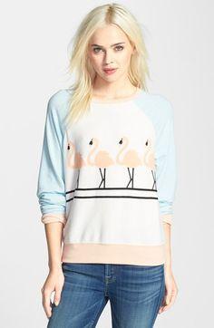 Wildfox 'Dancin' Raglan Sleeve Sweatshirt available at #Nordstrom