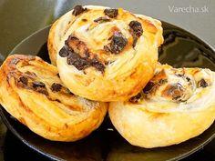 Rýchle smotanovo-čokoládové slimáčiky (fotorecept) Baked Potato, Ale, Muffin, Brunch, Potatoes, Treats, Baking, Breakfast, Sweet
