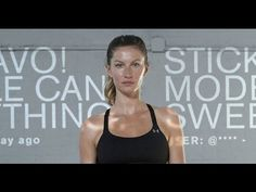Gisele Bündchen - I WILL WHAT I WANT commercial. Inspiring