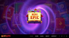 MiniEpic Logo on the website homepage  www.MiniEpic.com