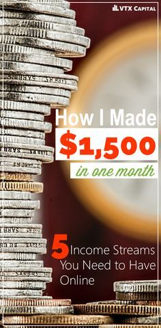 Are you ready to start making money online through blogging?  The internet has created a lot of opportunities out there; here's how we made $1,500 in our first month of monetizing our blog.