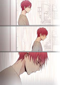 "Akashi Seijūrō 赤司征十郎 | Rakuzan Kōkō | Kuroko no Basket |BIAN en Twitter: ""【65Q注意】아카시는 그때일을 두고두고 후회할것같은 ....아무튼 그날은 귀신같이 비가 내렸다는것이다ㅠ... http://t.co/MCzVIlOcbq"""