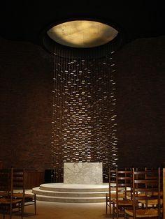 Saarinen - MIT Chapel, Interior - Cambridge, MA by fhong, via Flickr