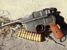 Mauser C96 pistol...have tried for years to find one worth buying....most have the barrels or action shot to Hades.