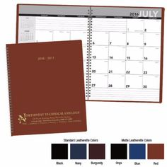 8153 - Norwood by BIC Graphic - Triumph® Academic Monthly Planner. #promoproducts