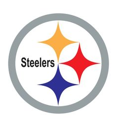 printable pittsburgh steelers logo nfl logos pinterest rh pinterest com Steelers Logo Wallpaper Old Steelers Logo