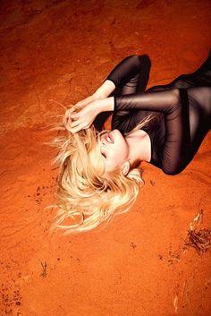 blonde fire