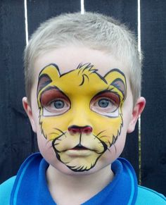 Face Painting, Body Painting, Kids Birthday Party Entertainment - Face Painting, Body Art, Party Entertainment in Auckland Disney Face Painting, Face Painting Images, Animal Face Paintings, Face Painting For Boys, Face Painting Tutorials, Lion Painting, Belly Painting, Face Painting Designs, Tole Painting