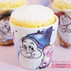 Mug Cake: torta in tazza allo yogurt cotta al microonde
