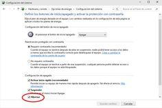 Cómo activar o desactivar la hibernación en Windows 10. Forma de borrar el archivo de hibernación hiberfil.sys para liberar espacio en el disco duro.