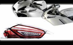 Partendo dal concetto dello specchietto ripiegabile, integrato alle manopole delle hypermotard, si è sviluppata una soluzione analoga integrata al cupolino delle varie moto stradali Ducati 998, Ducati 1098 e della Ducati 1198.