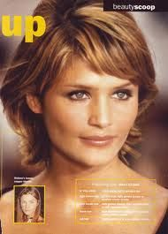 I loved Helena Christiansen's shag so much that I cut my own hair to get the same cut.