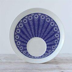 Arabia Finland Peacock Plate