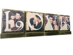 PERSONALIZED PHOTO BLOCKS-Great Christmas Gifts-Spell Out Love-Lasting Memories Photo Displays